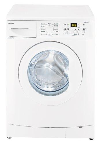 Beko WML 51231 E Waschmaschine Frontlader / A+ / 1200 UpM / 5 kg / weiß / Express - Programm / Mengenautomatik / nur 45 cm tief / Unterbaufähig [Altes Modell]
