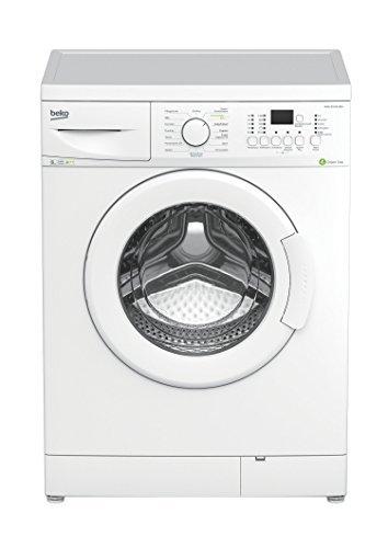 Beko WML 81433 MEU Waschmaschine / 1400 UpM / 8 kg / weiß / Mengenautomatik / Kurzprogramm / Watersafe / Aquawave-Schontrommel