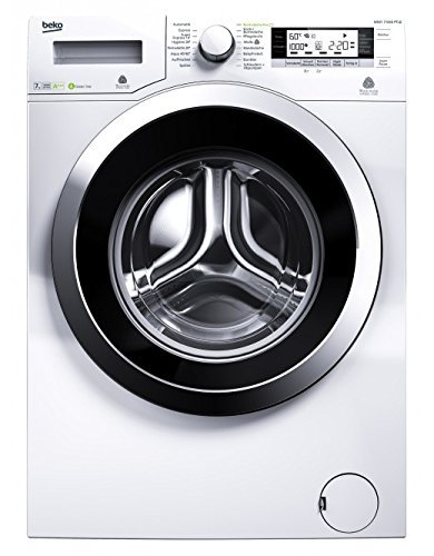 Beko WMY 71643 PTLE Waschmaschine Frontlader / A+++ /  1600 UpM / 7 kg / Weiß / Pet Hair Removal / Mengenautomatik / Watersafe+
