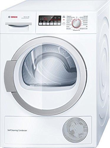 Bosch WTW86271 Wärmepumpentrockner/A++/8 kg/Weiß/Selbstreinigender Kondensator