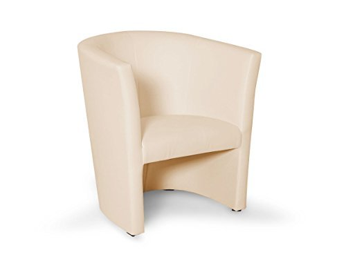 CHARLY Cocktailsessel Polstersessel Sessel Polsterstuhl Stuhl in beige, beige