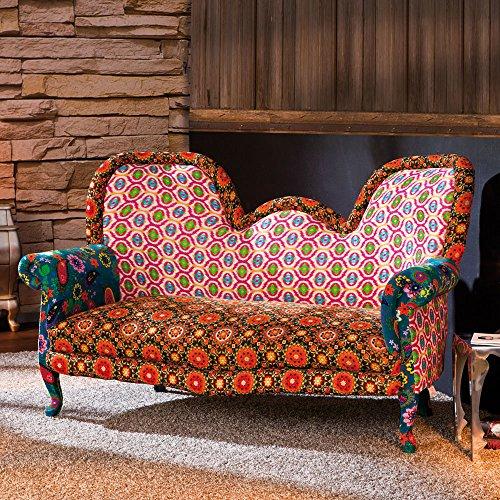 Design Sofa in Bunt Retro Pharao24