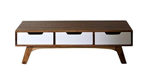 Excl. Baidani Designer Couchtisch TWIGGY 120x70cm Retro-Design der 60er
