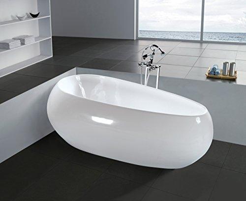 Freistehende Badewanne beschädigt / zerkratzt