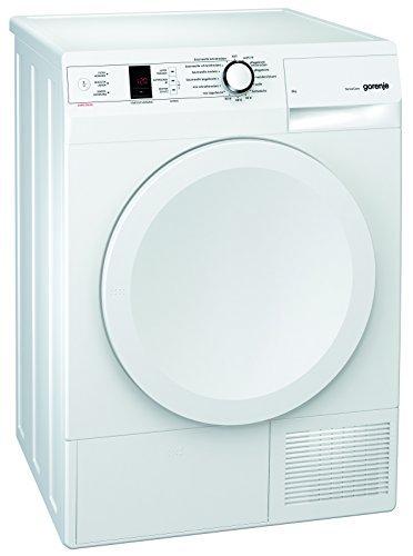 Gorenje D 8566 A+++ Kondenstrockner FL/A+++/8 kg/weiß/Wärmepumpentechnologie/Startzeitvorwahl 24 h/Knitterschutz