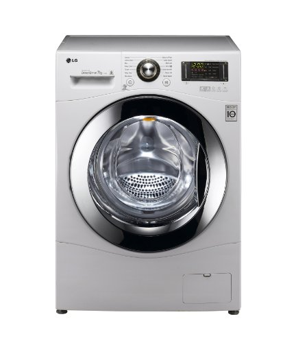 LG F1494QD Frontlader Waschmaschine / A+++ / 7 kg / 171 kWh/Jahr / 10000 Liters/Jahr / 1400 UpM / Inverter Direct Drive / Aqua Lock / Smart Diagnosis/ weiß