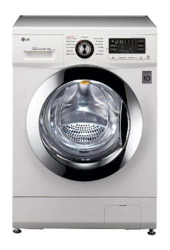 LG Electronics F1496AD3 Frontlader Waschtrockner/B/8 kg/Weiß/6 Motion DirectDrive/Smart Diagnosis