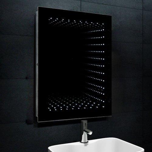 Lux-aqua Design Spiegel beschichtet LED Beleuchtung mit 320 Lumen 6400K 1243W