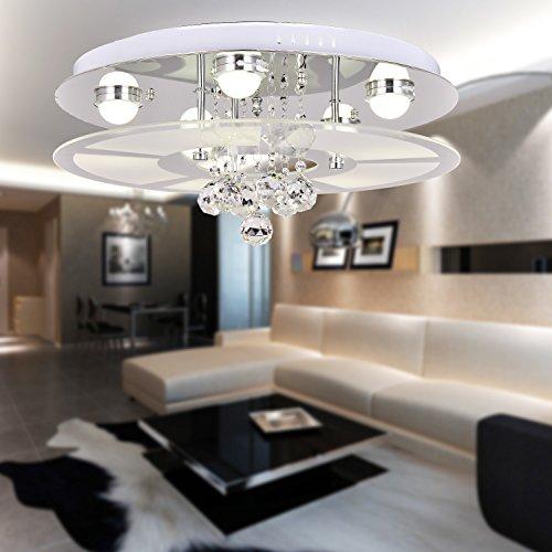 OOFAY LIGHT® Deckenleuchte Modern einfache und elegante Mode-A 3Medaillen/Deckenleuchte für Schlafzimmer/moderne Deckenleuchte aus Glas für Wohnzimmer