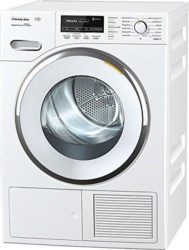 Miele TMG 840 WP Wärmepumpentrockner/Energieklasse A+++ (169kWh/Jahr)/8kg Schontrommel/Dampffunktion zum Vorbügeln der Wäsche/Duftflakon für frisch duftende Wäsche/Startvorwahl/Knitterschutz