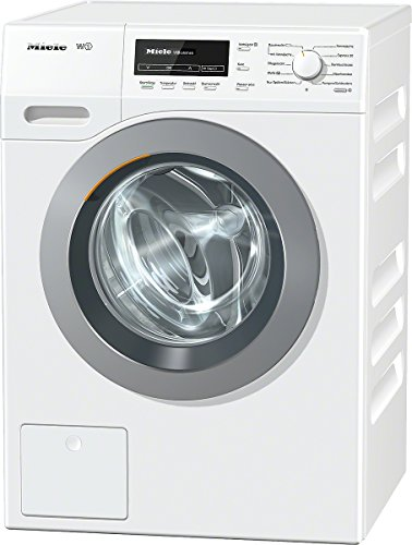 Miele WKB130WCS D LW Waschmaschine Frontlader/A+++/176 kWh/Jahr/1600 UpM/8 kg/LotosWeiß/9900 L/Jahr/Thermo-Schontrommel/Capdosing