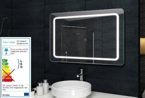 Badezimmerwandspiegel Wandspiegel mit Beleuchtung - 100x60cm - MF69100