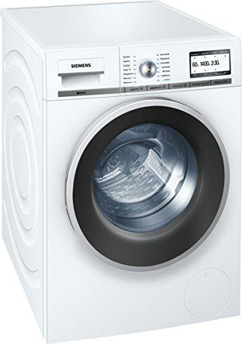 Siemens iQ800 WM14Y74D iSensoric Premium-Waschmaschine/A+++/1400 UpM/8 kg/Weiß/VarioPerfect/Super15/Antiflecken-System