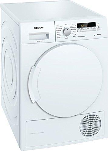 Siemens WT43W260 iQ300 Wärmepumpentrockner/A++/7 kg/Großes Display mit Endezeitvorwahl/Selbstreinigungs-Automatik/weiß