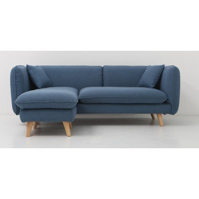 Trends & Living Sofa P04020-BLU blau