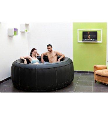 Spa Whirlpool aufblasbar SUPER Spark Leder 4Sitzer–Selection veryspas