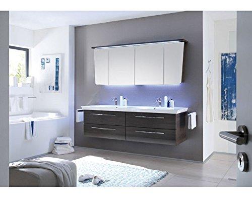 Pelipal Vialo 3 tlg. Badmöbel Set / Waschtisch / Unterschrank / Spiegelschrank