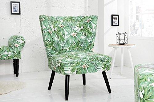 DuNord Design Sessel Polstersessel grün Relaxsessel Retro Design Lounge Sessel MARTA PROVENCE Polsterstuhl