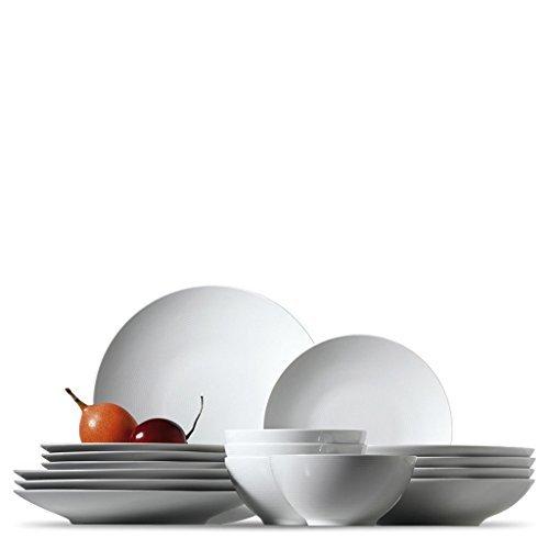 Rosenthal 11900-800001-18733 Loft Set F-Frühstück - Porzellan - weiß