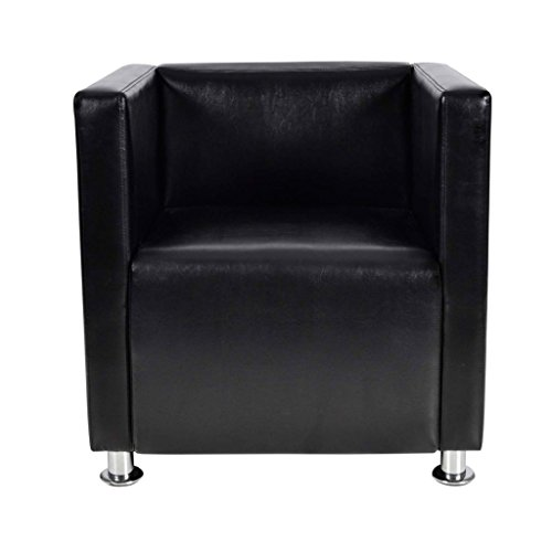 vidaXL Lounge Sessel Clubsessel Cocktail Stuhl Relax Couch schwarz
