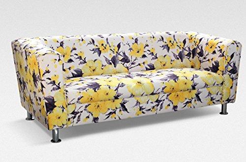 3-Sitzer Design Sofa 3er Wellenunterfederung Modern - VANCOUVER