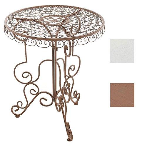 CLP Eisen-Tisch MINORE rund Ø 62 cm, Höhe 72 cm, nostalgisches Design