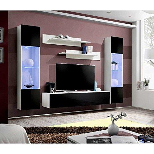 JUSTyou FLI A III Wohnwand Anbauwand Schrankwand (HxBxT): 170x260x40 cm Große Farbauswahl