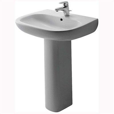 Duravit Waschbecken D-Code 55cm, weiss, 2310550000