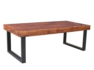 Woodkings Couchtisch Ettrick 116x57cm, Holz Akazie braun, Echtholz modern, Design, Massivholz Lounge Coffee Table günstig