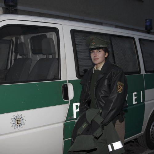 Polizeibeamtin