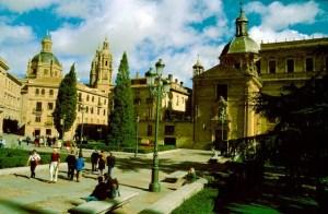 Spanien Salamanca Alte und Neue Kathedrale (1)