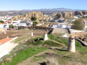 Landschaft Guadix 2015-11-06 Foto Elke Backert