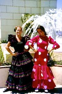 Malaga Feria Flamencodamen