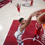 Team USA bounces back from France loss, blows out Iran 120 – 66 in Tokyo Olympics