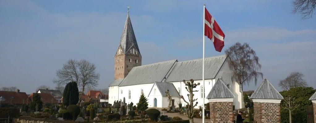 Møgeltønder kirke set fra sydøst