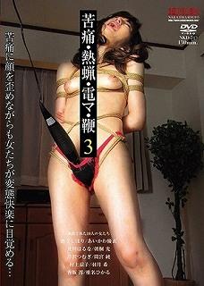 苦痛・熱蝋・電マ・鞭 3