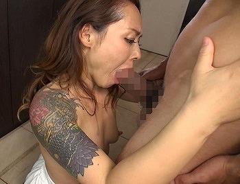 刺青美人妻性欲爆発SEX 詩温陽菜