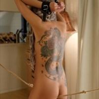 刺青ギャルを性奴調教!真・刺青の女は首輪と手枷それに股縄で悶絶する変態マゾ MIKA
