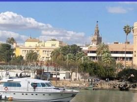 Paseo en Yate (Dársena de Sevilla)