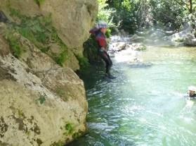 Barranquismo Zarzalones Inferior - Río Grande