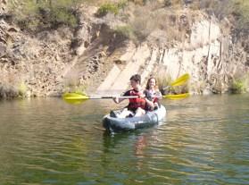 Kayak Villanueva del Río y Minas