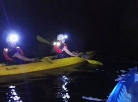 Kayak Nocturno a la luz de la LUNA LLENA