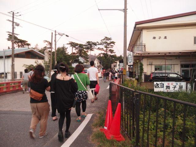 近江舞子で行われた「大津志賀花火大会」
