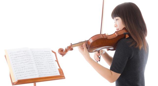 家でできるバイオリン