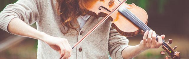 家でできるヴァイオリン
