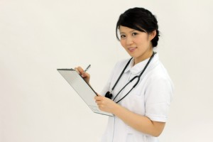 pm2.5女医のどの痛み鼻水