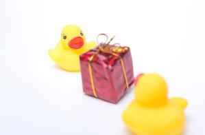アヒルちゃんのプレゼント交換