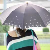 日傘で紫外線(UV)カット!オシャレにシミ・シワを予防!?遮光率ってなに?