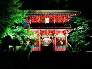 花園神社スポット