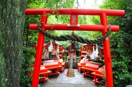 日本七社 冠稲荷神社